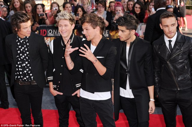 One Direction at This Is Us premiere in London